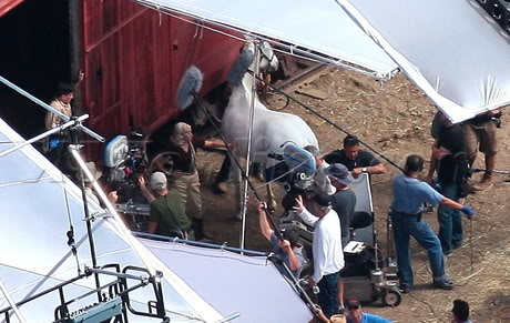 Water for Elephants : Photos  + Vidéos du tournage... WFESet20may12