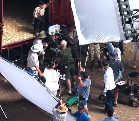 Water for Elephants : Photos  + Vidéos du tournage... WFESet20may19