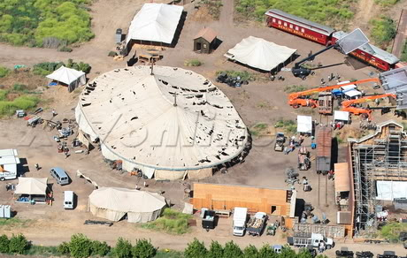 Water for Elephants : Photos  + Vidéos du tournage... WFESet20may25