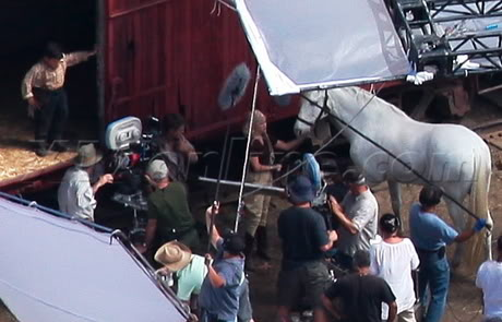 Water for Elephants : Photos  + Vidéos du tournage... WFESet20may4
