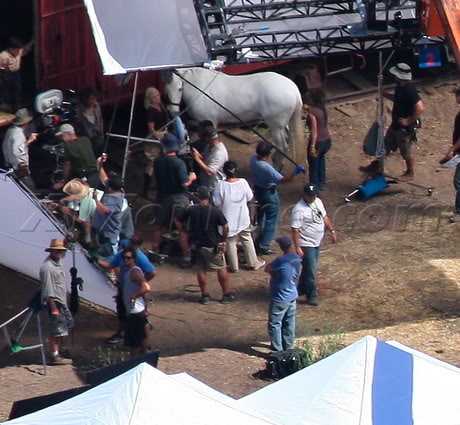 Water for Elephants : Photos  + Vidéos du tournage... WFESet20may5