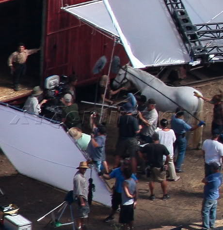 Water for Elephants : Photos  + Vidéos du tournage... WFESet20may6