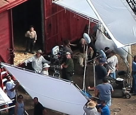 Water for Elephants : Photos  + Vidéos du tournage... WFESet20may8