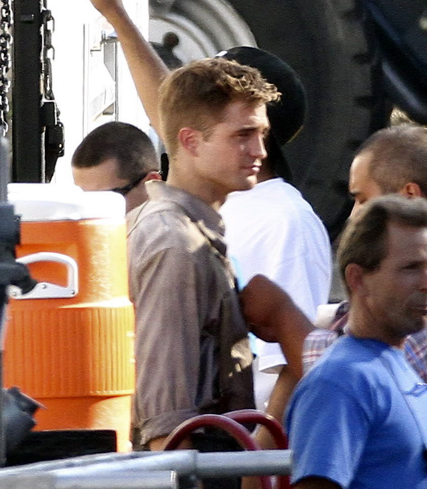 Robert Pattinson: Water For Elephants: Sets WFE27thJuly4