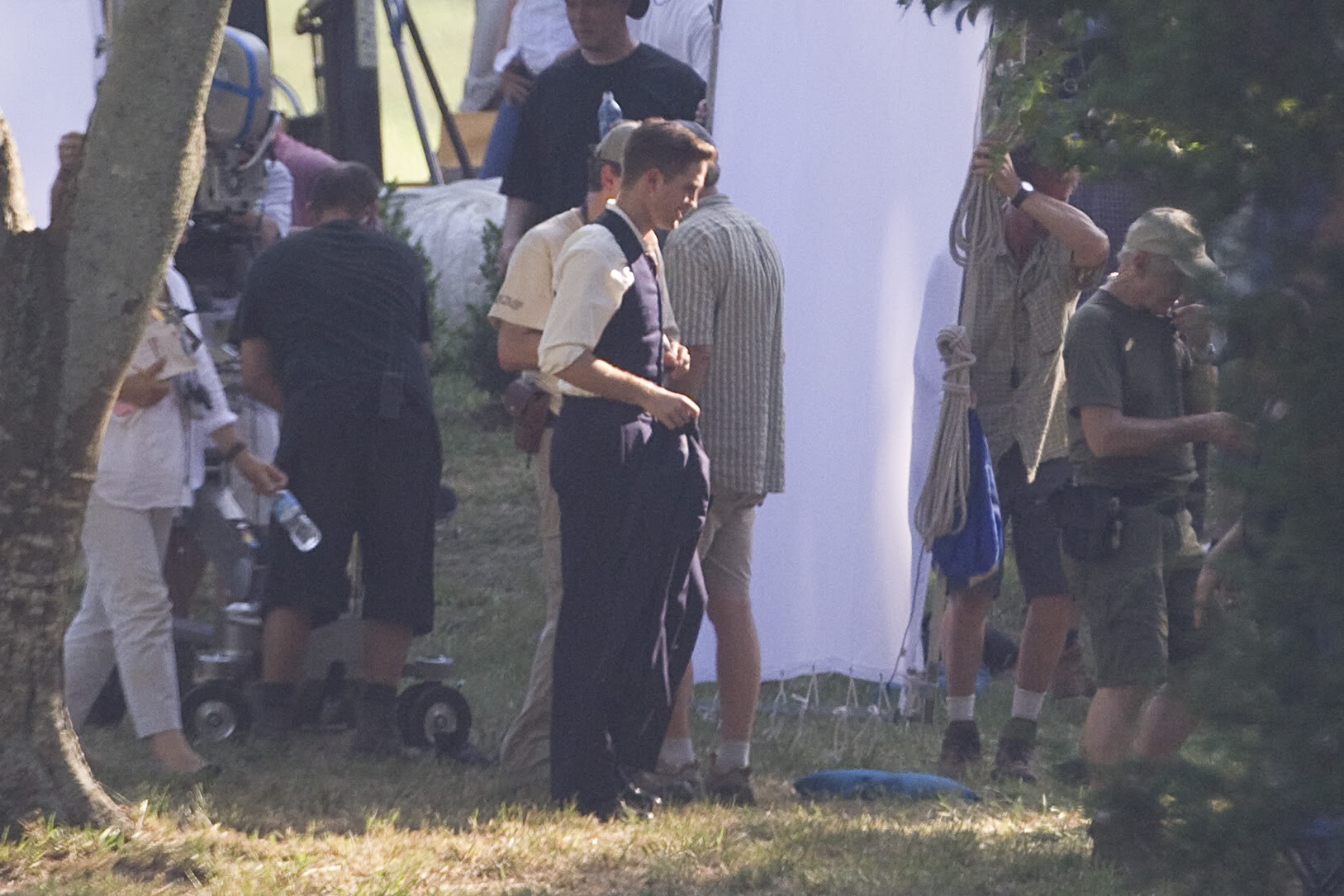 Robert Pattinson: Water For Elephants: Sets WFESet14