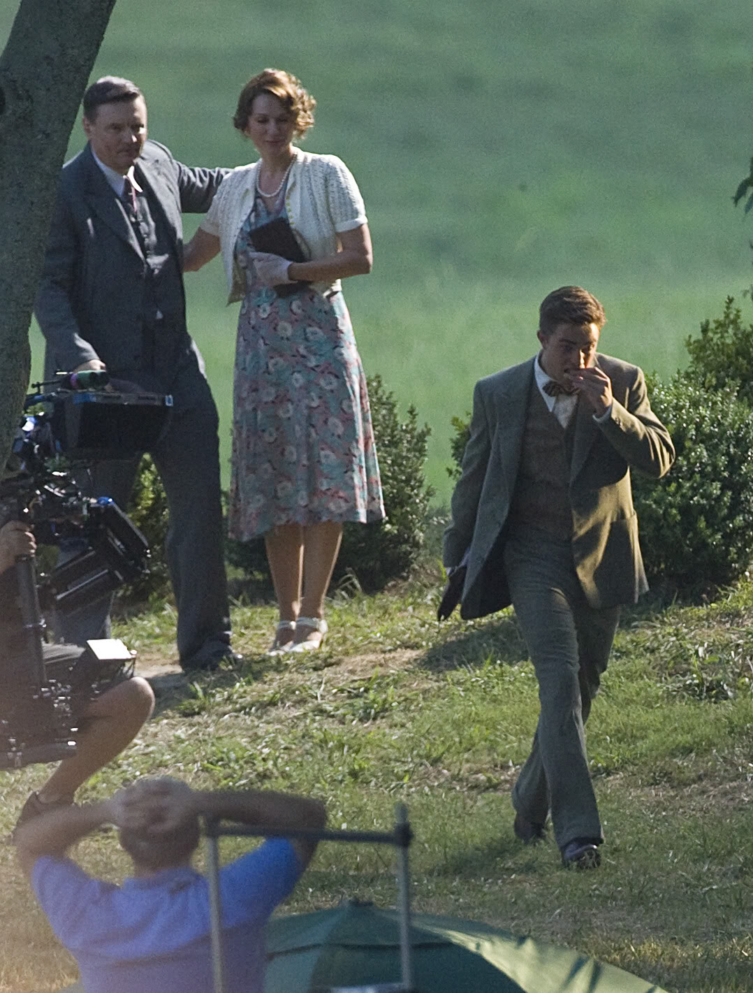 Robert Pattinson: Water For Elephants: Sets WFESet18
