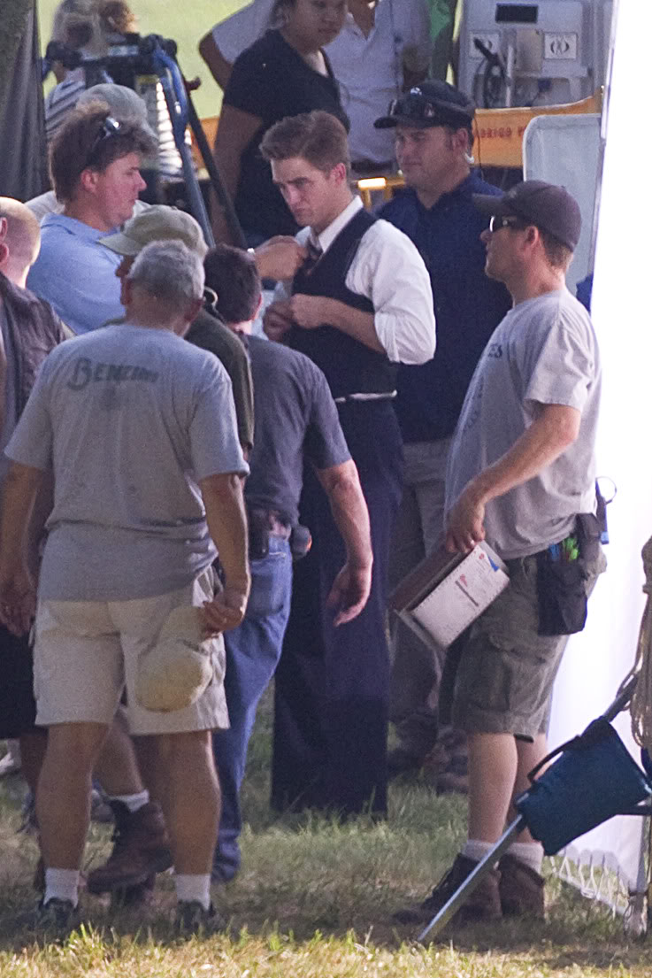 Robert Pattinson: Water For Elephants: Sets WFESet4