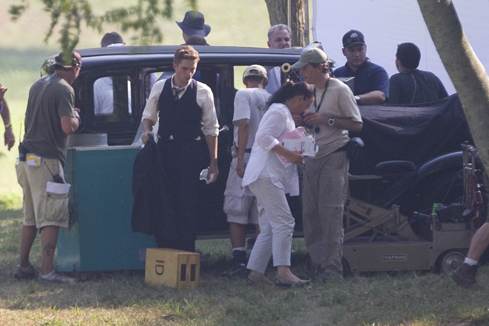 Robert Pattinson: Water For Elephants: Sets WFESet9