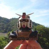 RX-78-02 Gundam head (Gundam the Origin) Th_DSC03385