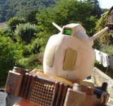 RX-78-02 Gundam head (Gundam the Origin) Th_DSC03395