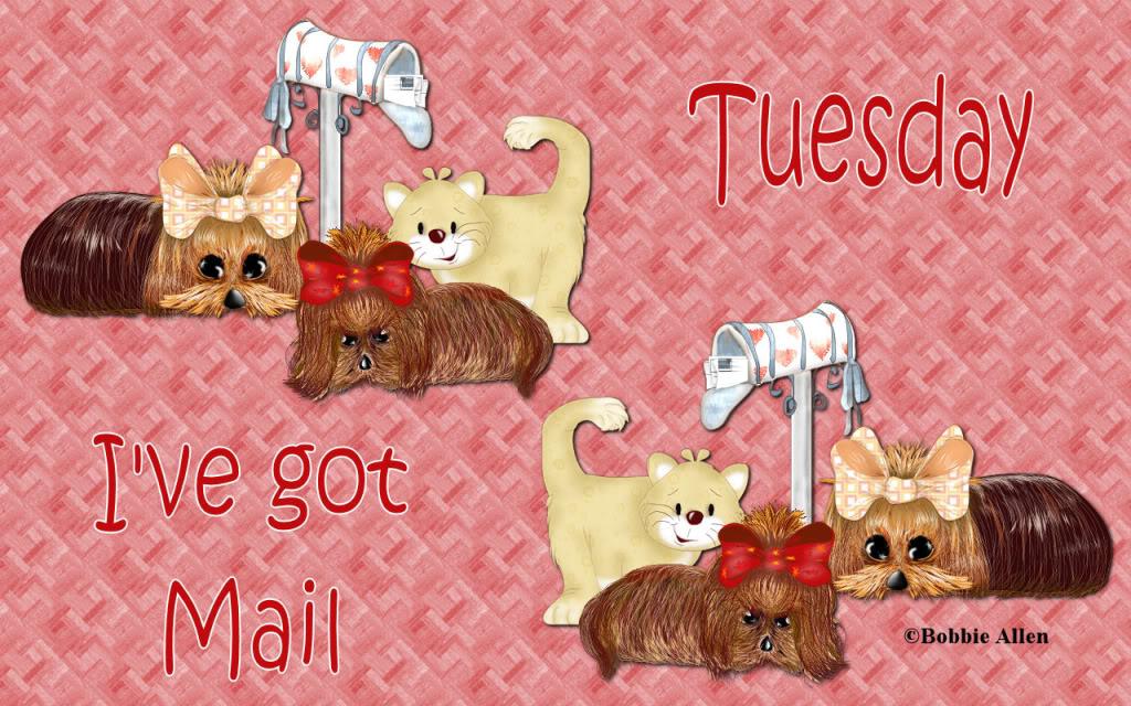 Bobbie Allen - I've got mail BobbieAllenMail