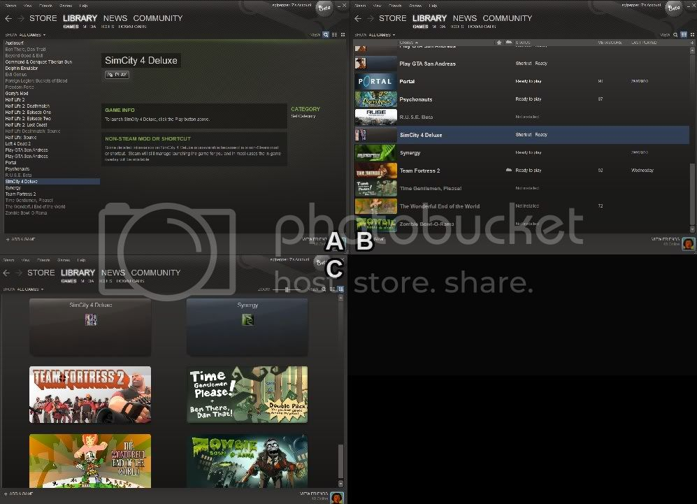 New Steam UI 02_Library