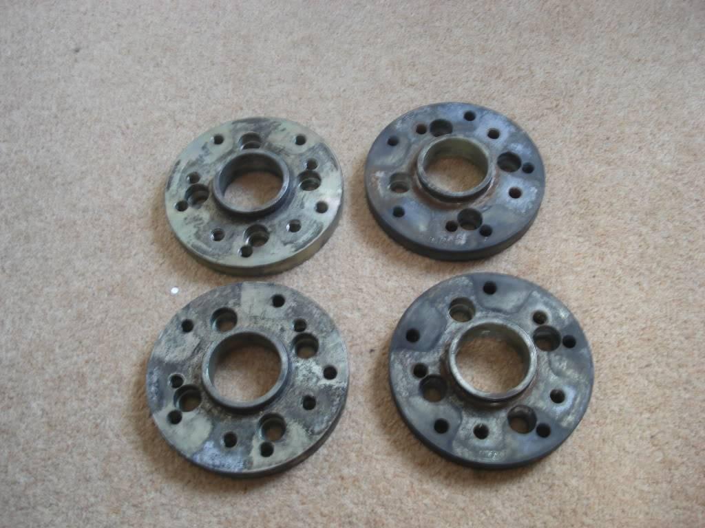 15 mm Wheel Adaptors 4x100 to 5x130/5x112 Now Sold DSC00903