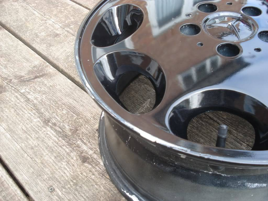 Mercedes 8 Hole Alloys - No Tyres - Now Sold DSC00909