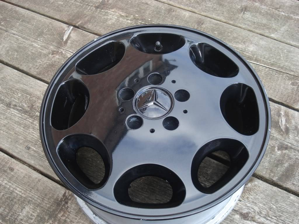Mercedes 8 Hole Alloys - No Tyres - Now Sold DSC00910