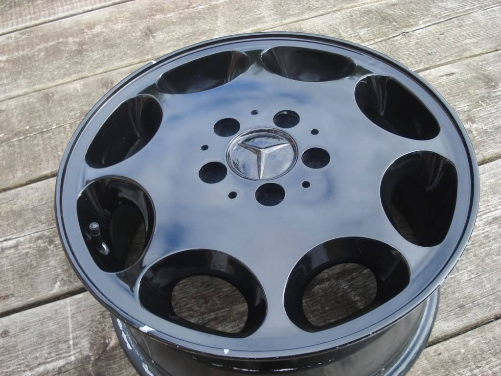 Mercedes 8 Hole Alloys - No Tyres - Now Sold DSC00913