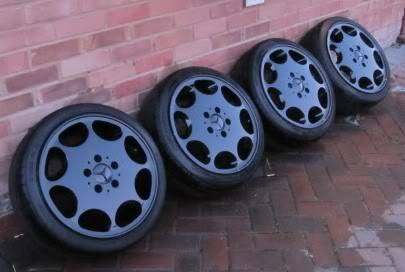 Mercedes 8 Hole Alloys - No Tyres - Now Sold IMG_0059