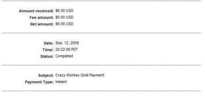 My last 6 payments!! Cmgp3