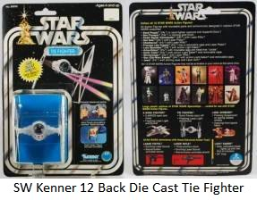 Vintage Die Cast Tie Fighter Thread 12back