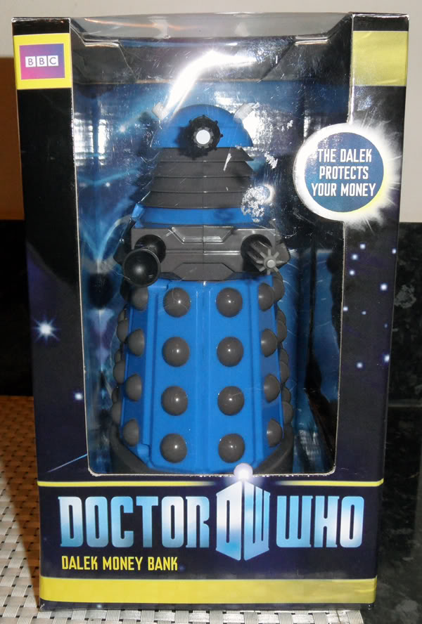 FS: DR WHO Daleka! -  MISB Dalek Money Bank and MISB Desktop Dalek! FSDALEKMONEYBANKPIC1