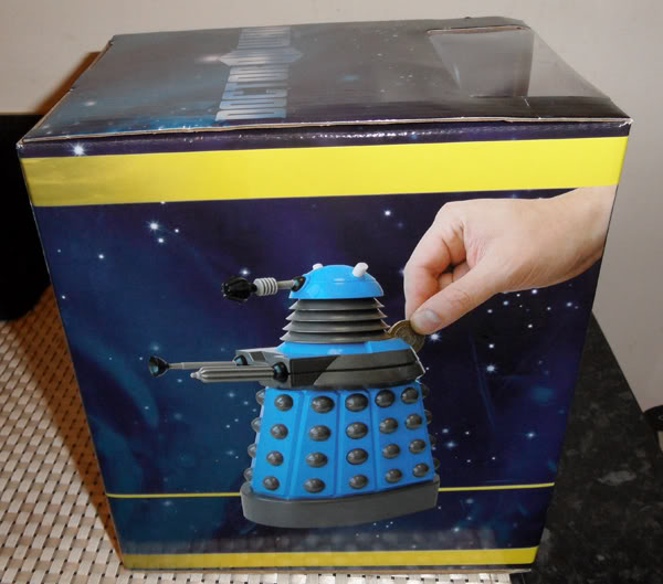 FS: DR WHO Daleka! -  MISB Dalek Money Bank and MISB Desktop Dalek! FSDALEKMONEYBANKPIC2