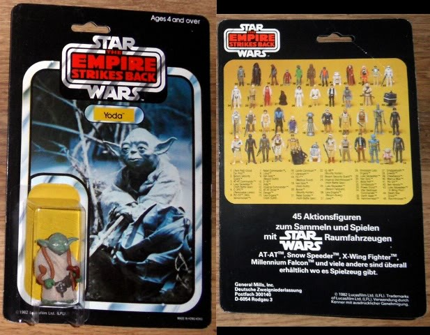 Your ALL time Greatest Vintage Star Wars Bargains Thread! GermanGMYodaforchat