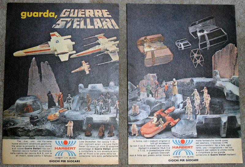 Vintage Star Wars Italian Harbet Toy Advertisements   HarbetAdvert