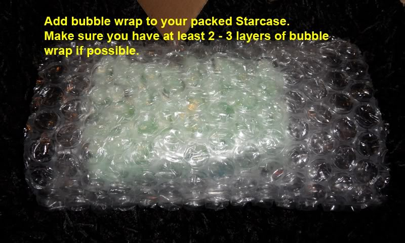Picture Guide 1 - How to Pack a Vintage Star Wars MOC safely and protect the bubble using the starcase method (Pic Heavy) PackingaMOC20TIG