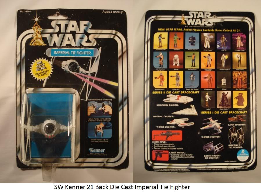 Vintage Die Cast Tie Fighter Thread SWKenner21BackDieCastImperialTieFighter