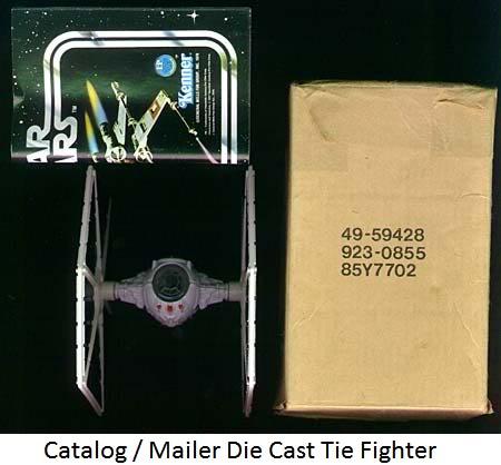 Vintage Die Cast Tie Fighter Thread Catalog-diecast-tiefighter