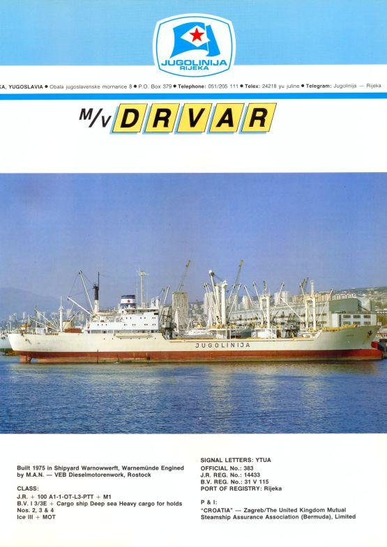 """Katalog brodova """"Jugolinije"""" iz 1990. godine Drvar1mali"""