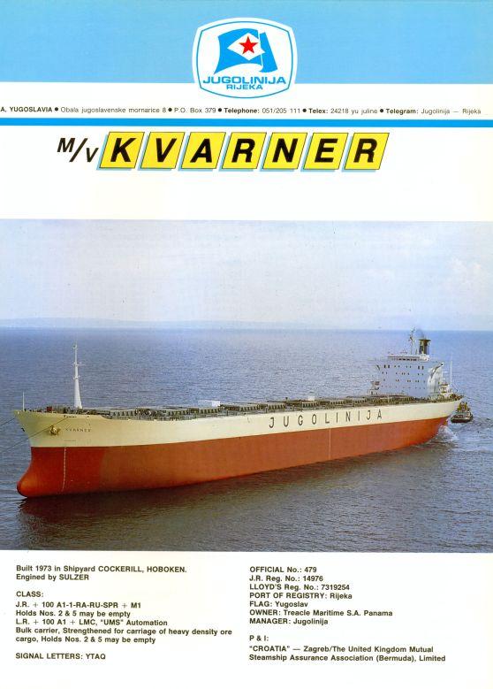 """Katalog brodova """"Jugolinije"""" iz 1990. godine Kvarner1mali"""