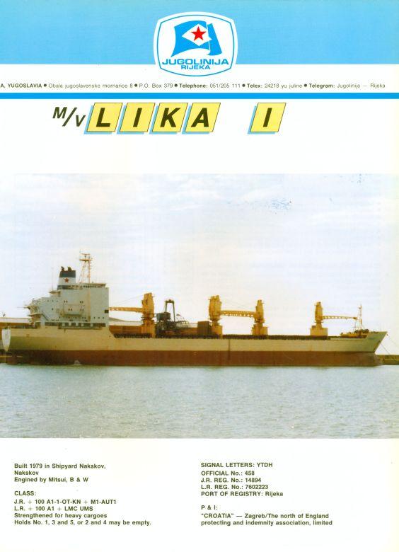 """Katalog brodova """"Jugolinije"""" iz 1990. godine Lika1mali"""