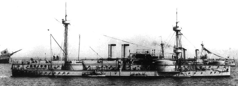 Japanske oklopnjače i preddrednoti Chinen1Zhenyuan