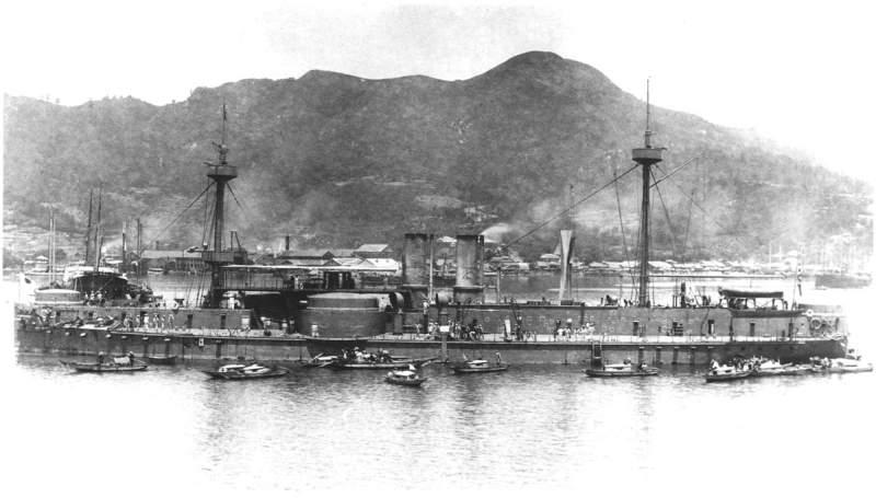 Japanske oklopnjače i preddrednoti Chinen3Zhenyuan