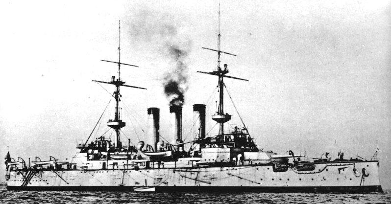 Japanske oklopnjače i preddrednoti Shikishima1
