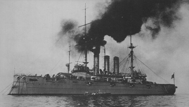 Japanske oklopnjače i preddrednoti Shikishima4