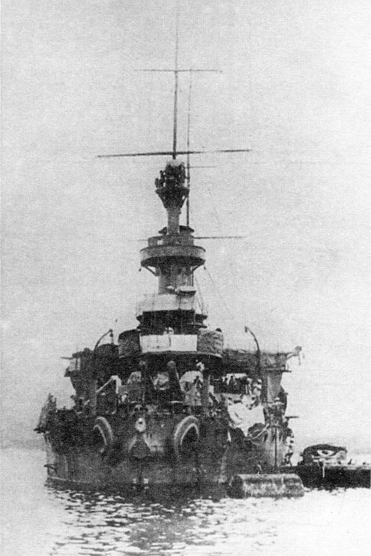 Japanske oklopnjače i preddrednoti AdmiralSenjavin3Mishima