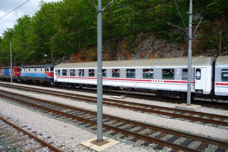 Navijački vlakovi StanicaLokve1539