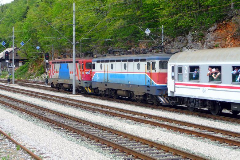 Navijački vlakovi StanicaLokve1540