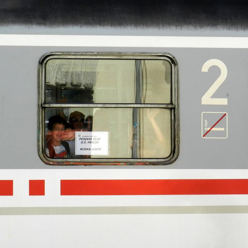 Turistički,izletnički vlakovi StanicaLokve1566