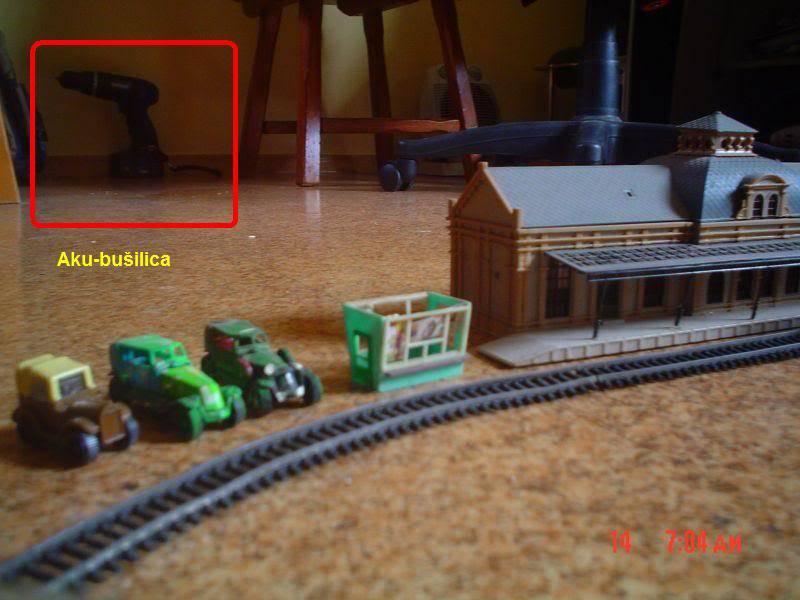 Maketa vlaka N AkuBusilica