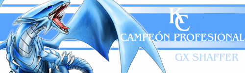 "TABLA DE CAMPEONES ""TONEO PROFESIONAL"" CAMPEONSHAFFER"