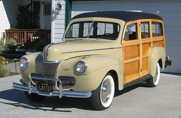 MESA 2011 - 1941 FORD WOODIE Woodie41tan1