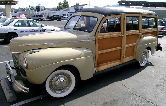 MESA 2011 - 1941 FORD WOODIE Woodie41tan5