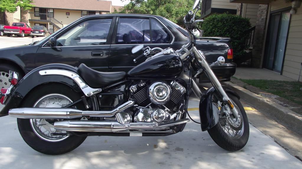 2001 Yamaha V-Star 650 Classic DSCF0993