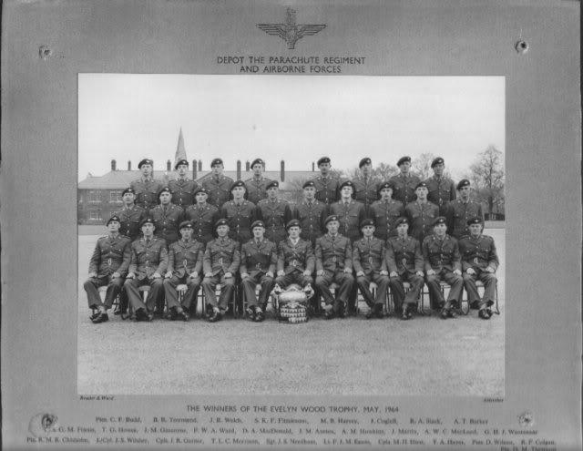Winners of the Evelyn Wood Trophy - May 1964 3Para63-69060