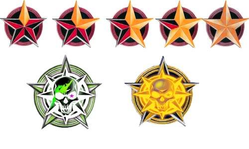 KillMarks 6 Red-Star