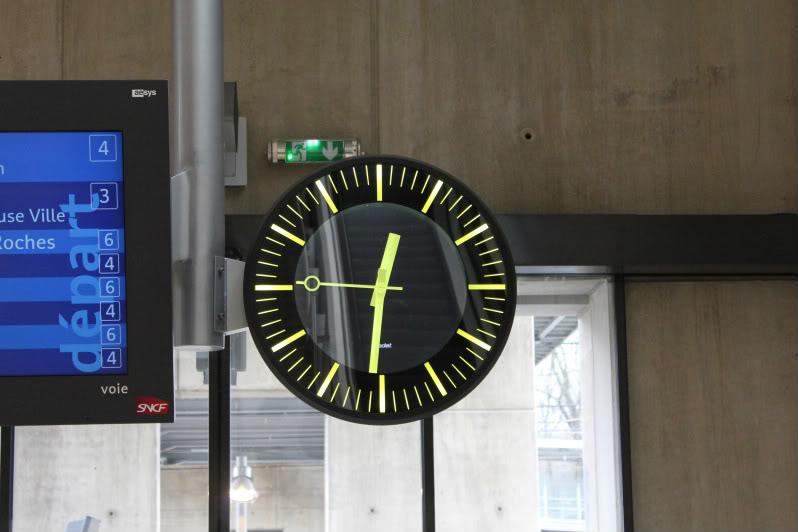Une horloge de six tonnes pour la gare de Besançon TGV IMG_3106