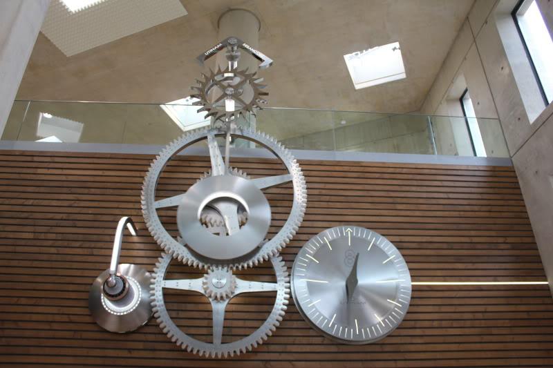 Une horloge de six tonnes pour la gare de Besançon TGV IMG_3110